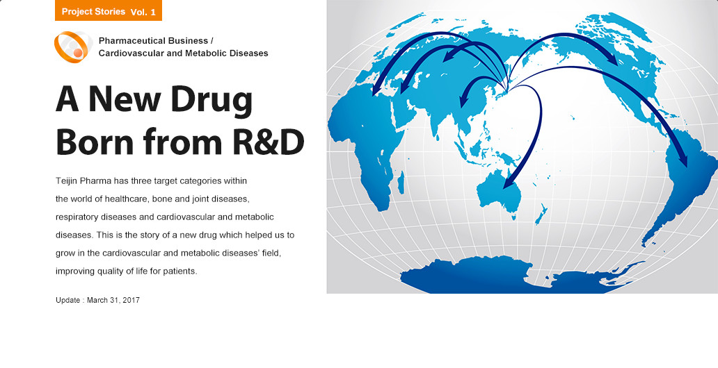 A New Drug Born from R&D